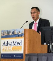 Eric Chen, director of FDA's Humanitarian Use Devices Program at the AdvaMed 2015 conference.