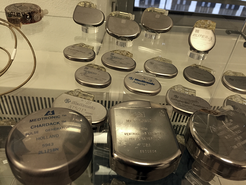 Evolution of Medtronic pacemakers, Maastricht