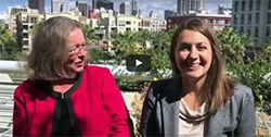 Joan Koerber-Walker and Maria Fontanazza, economic development in medtech, AdvaMed 2015