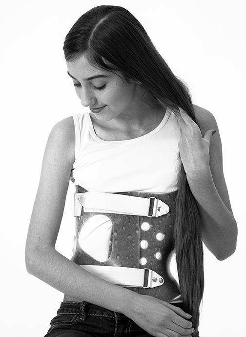 Pediatric, scoliosis brace
