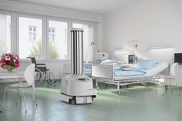 UVD Robots, disinfection, coronavirus, COVID-19