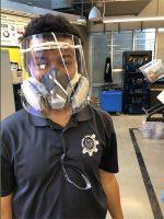 Georgia Tech, face shield, coronavirus, COVID-19