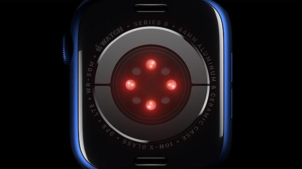 Apple Watch Series 6 Blood Oxygen Monitor