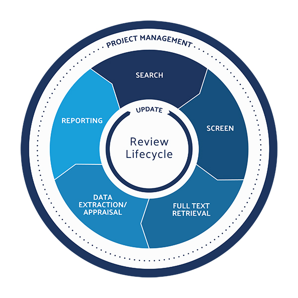 Standard literature review lifecycle