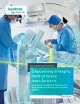 Empowering emerging medical device manufacturers